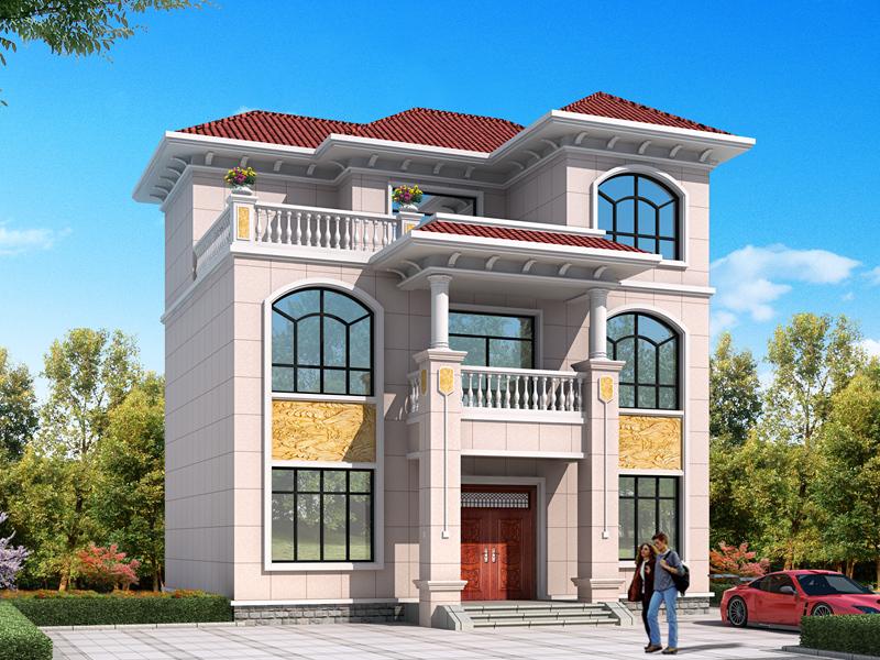 大众款三层自建别墅设计图,简单实用