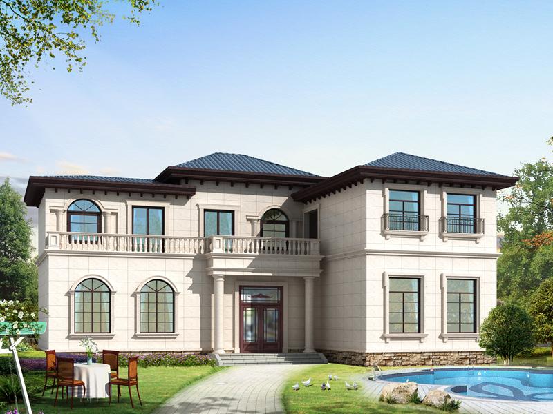 精品二层自建房屋设计图,美观精致,含全套完善施工图纸