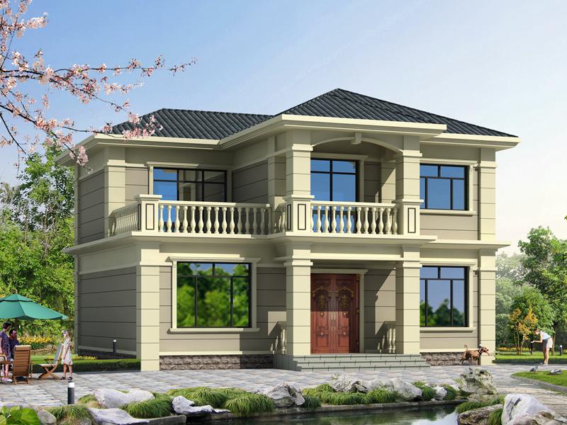11.80m*10.60m二层自建小别墅设计图,销量超高