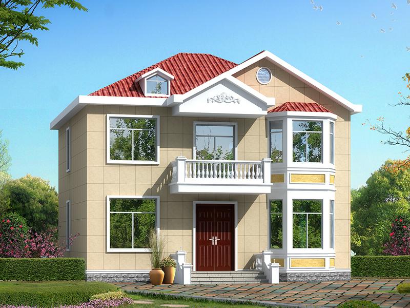 二层别墅设计图纸,中式风格