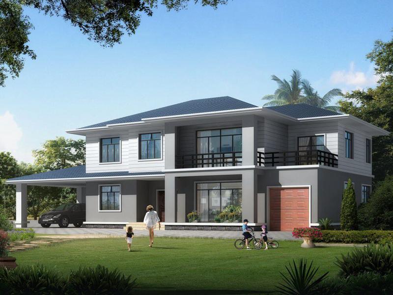 农村二层自建房屋设计图