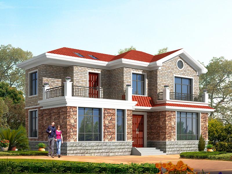 14x9米二层小别墅设计图,造价在20万以内