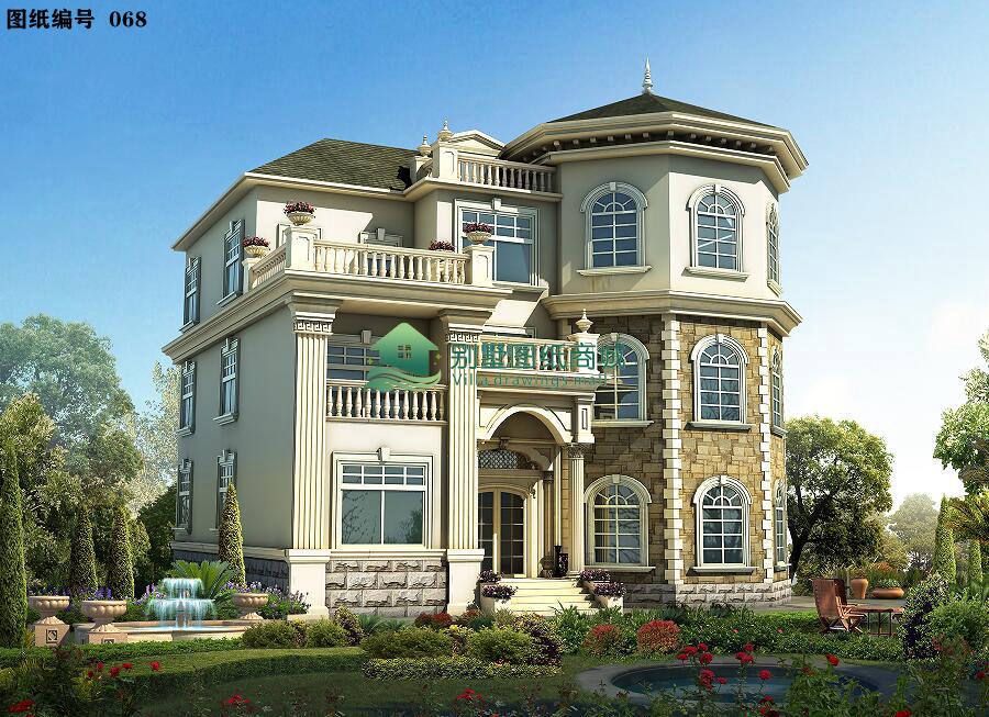 一层别墅设计图湖北罗田平面设计工资多少图片