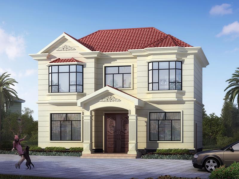 精品小户型二层自建别墅设计图,小户型的不二之选