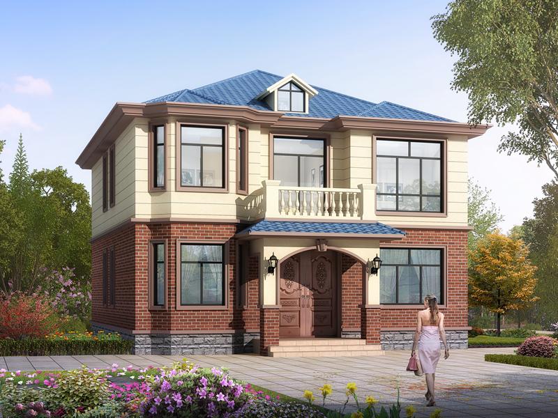 精品新中式自建二层小别墅设计施工图
