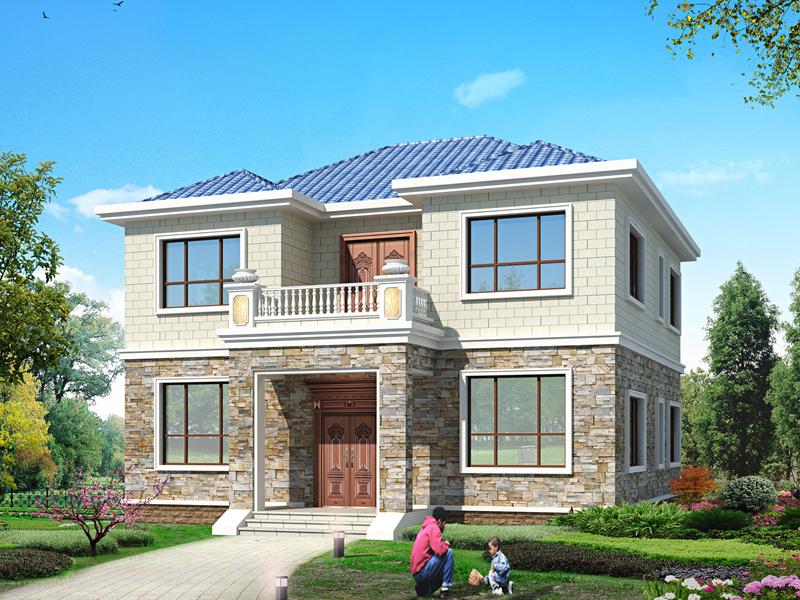 经典二层别墅设计图,布局合理,经济适用